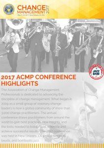 ACMP Change Management Dispatch 1