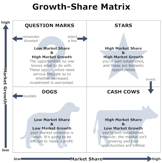 Strategy Growth Share Matrix