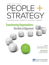People + Strategy Issue on Alignment