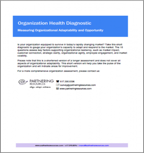 Ecosystem Health Diagnostic