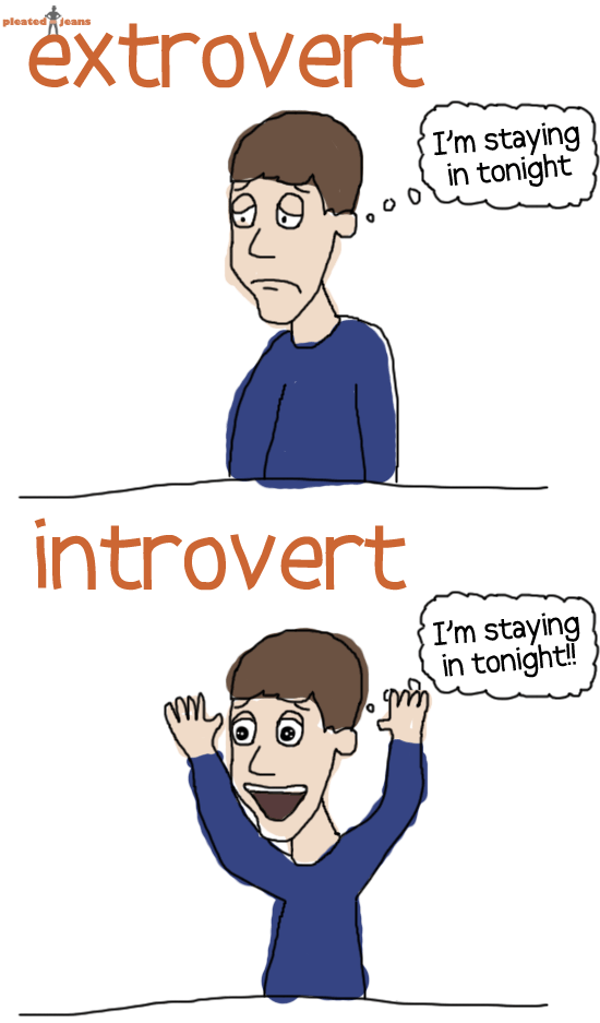 Introverts guide to hookup an extrovert