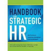 Handbook for Strategic HR, published by AMACOM
