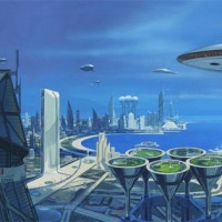 "Vision of a Future World by <a href=""http://www.sydmead.com>Syd Mead</a>"