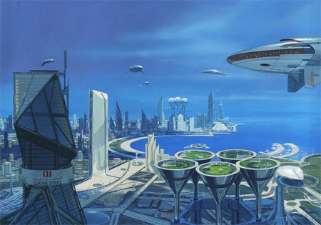 Vision of a Future World by Syd Mead